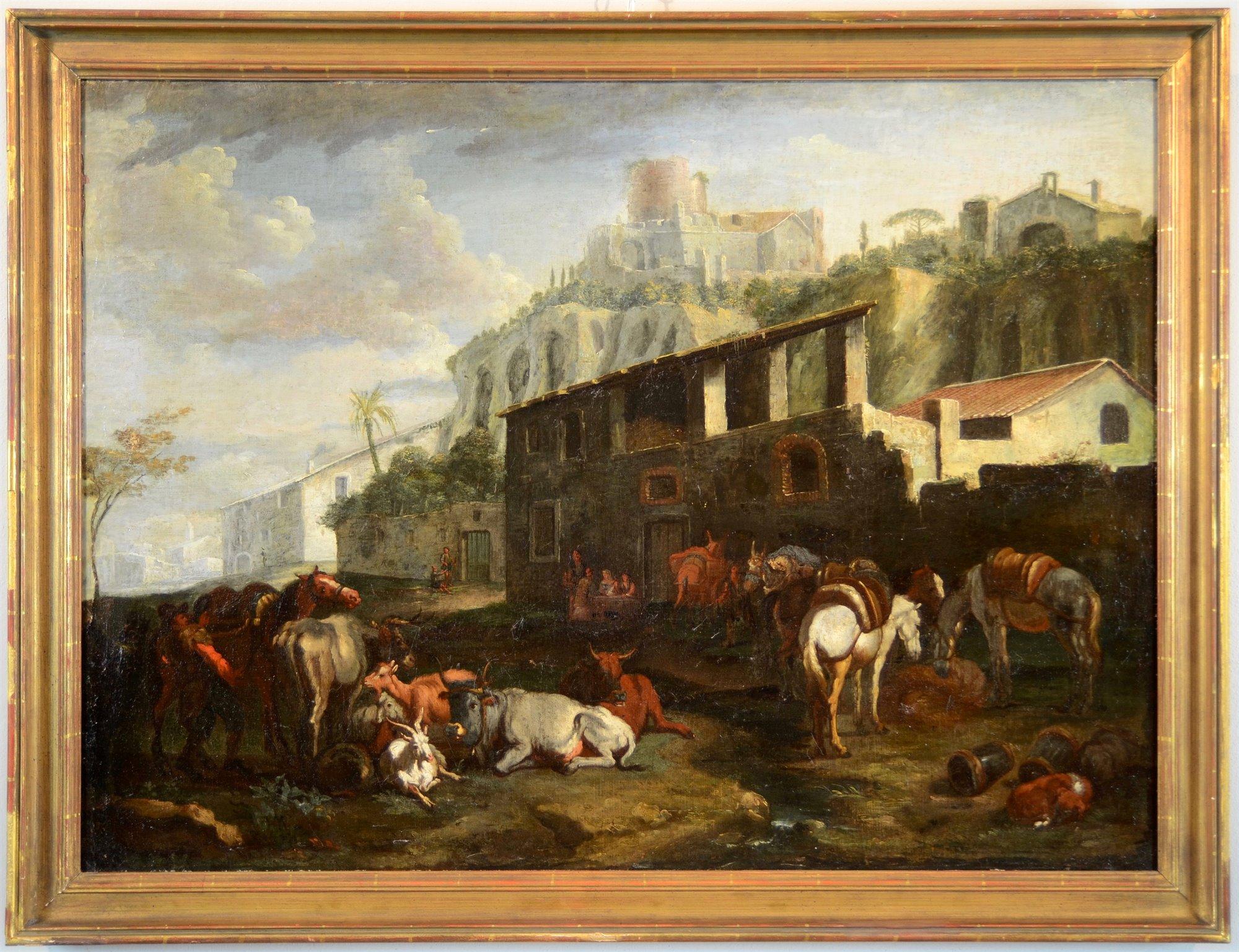 Pieter van Bloemen, detto lo Standardo (Anversa 1674-1720 ...